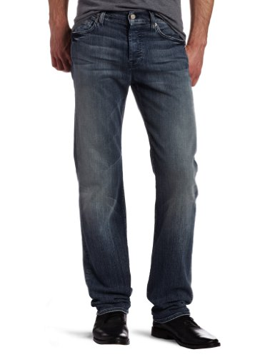 7 For All Mankind Men's Standard Classic Straight Leg Jean In Authentic Nakita