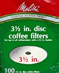 Melitta 628354 100-Pack Disc Coffee Filters made by Melitta