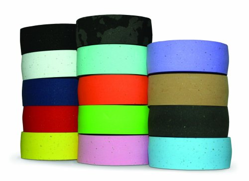 Planet Bike Comfort GEL Road Bike Handlebar Tape with Reflective Bar Plugs