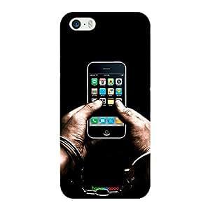 HomeSoGood Prisoners I Phone Black Case For iPhone 5 / 5S (Back Cover)