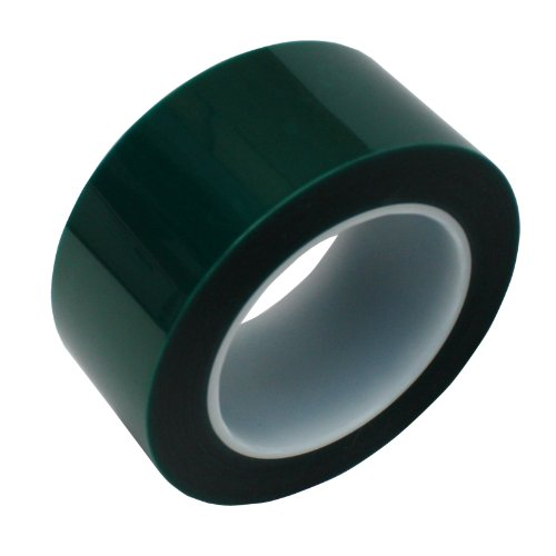 """HIGH TEMPERATURE POWDER COATING ANODIZING MASKING TAPE 3//4/"""" x 72 YDS CLEAR"""