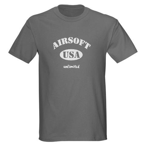 USA Airsoft Classic Sports Dark T-Shirt by CafePress