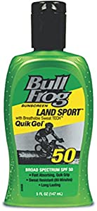 BullFrog Land Sport Quik Gel Sunscreen, SPF 50