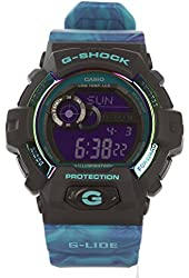 G-Shock GLS-8900AR-3 G-lide Series Luxury Watch - Purple and Turquoise / One Size