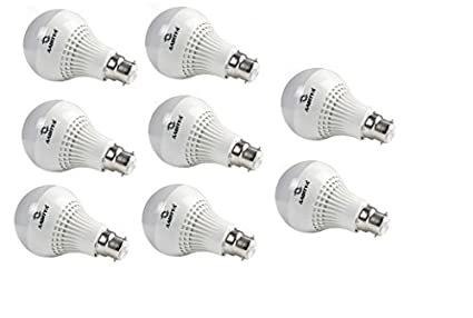 3W LED Bulb (Pack of 8)