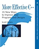 cover of More Effective C++