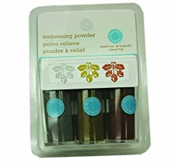 Martha Stewart Crafts Embossing Powders, Modern, 3-Pack