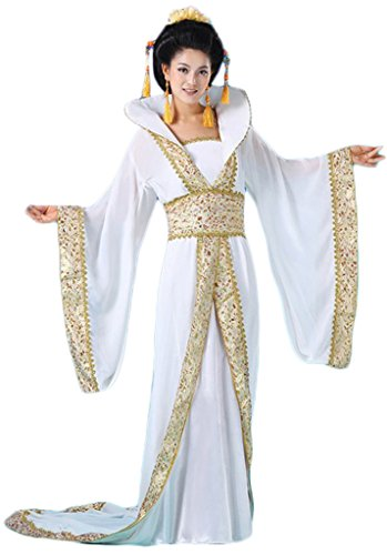 Chinese Costume Women's Princess Dress Trailing Empress Halloween Cosplay