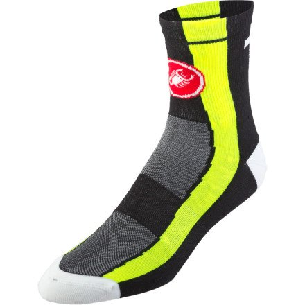Buy Low Price Castelli Free 9 Socks (B007CHZUPY)