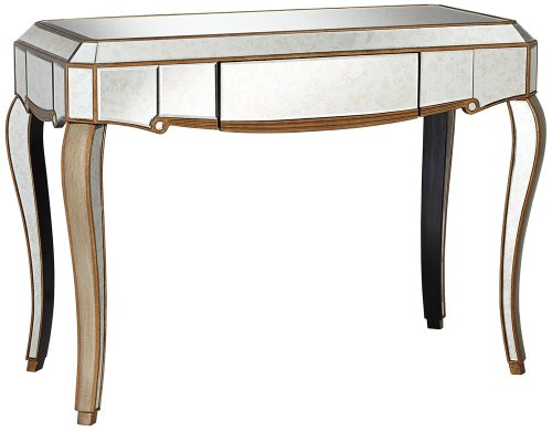 Cheap Vanessa Antique Gold Mirrored Console Table (JS270A)