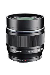 Olympus M.ZUIKO DIGITAL ED 75mm f1.8 (Black) Lens for Olympus and Panasonic Micro 4/3 Cameras