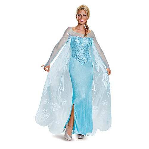 Disguise Women's Elsa Prestige Adult Costume