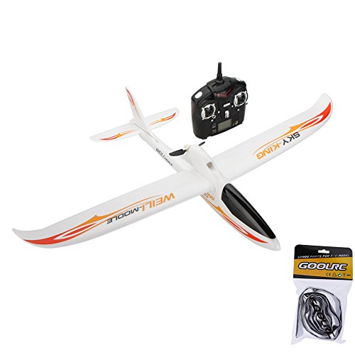 Wltoys F959 SKY-King 2.4G 3CH Radio Control RC Airplane Aircraft RTF-Red