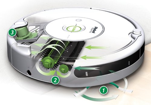 iRobot 530 Roomba Vacuuming Robot, White - photo#5