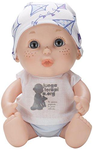 Juegaterapia - Muñeco Baby Pelón Alba Carrillo (Berjuán 0145)