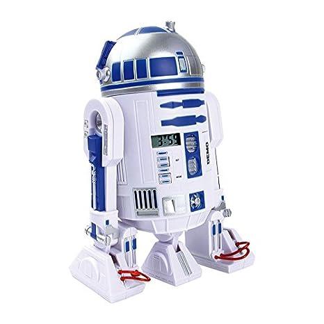 Legler - 2019295 - Figurine Animation - Réveil Star Wars - R2-d2 - Affichage 3d