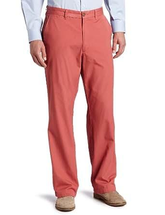 Dockers Men's Soft Classic Fit Flat Front Pant, Dusty Cedar, 36x31