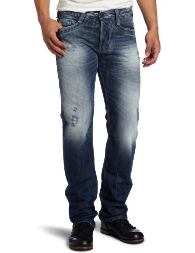 Diesel Men's Timmen 8b9 Regular Straight Leg Jean, Denim, 34x34