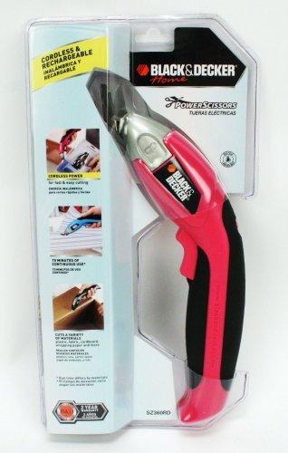 Black & Decker Home Power Scissors - Pink