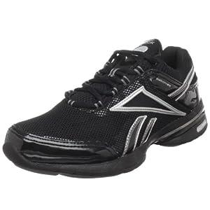 Reebok Easytone Reenew, Chaussures de sport femme - Noir (Black/Silver/Steel/Grey), 38 EU (7.5 UK)