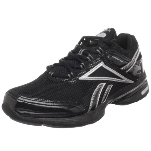 Reebok Easytone Reenew Ladies Shoes (Black/Silver), Black/Silver, UK5