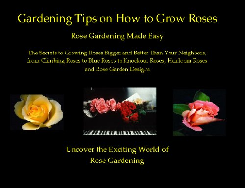 Gardening Tips on How to Grow Roses: Rose Gardening Made Easy - The Secrets to Growing Roses Bigger and Better Than Your Neighbors , from Climbing Roses ... Heirloom Roses and Rose Garden Designs