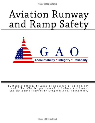 Aviation Runway and Ramp Safety: Sustained Efforts to Address Leadership, Technology, and Other Challenges Needed to Reduce Accidents and Incidents (Report to Congressional Requesters) PDF