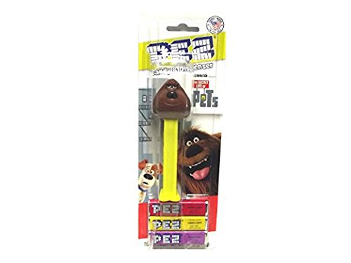 Pez Dispenser The Secret Life of Pets Duke the Dog Kids Toddlers Teens Candy (Kiss Pez Dispensers compare prices)