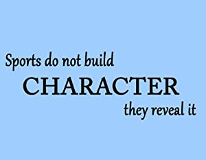 essay about sports building character