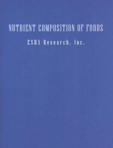 Nutrient Composition Of Foods To Accompany Nutrition: Everyday Choices