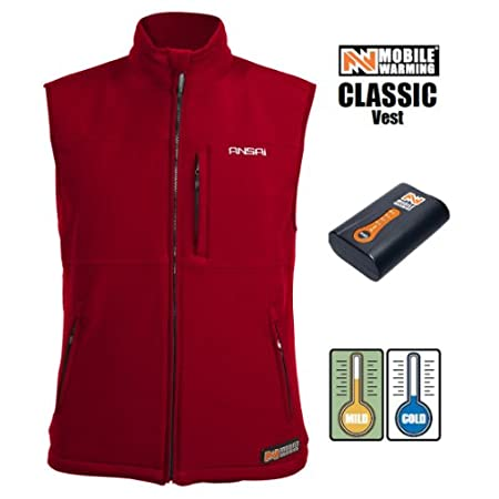 Mobile Warming designs heated clothing/battery heated clothing, heated jackets, heated vests, heated gloves for Motorcycle, Golf, Snowsports, hunting, construction and outdoor use. The Windshark 4-way stretch high breathable, waterproof fabric provid...
