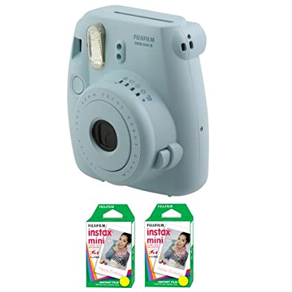Fujifilm Instax Mini8 Instant Camera (With 40 Film Exposures)