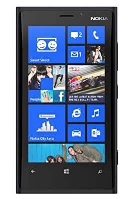 Nokia Lumia 920 RM-821 32GB Black Windows 8 Smartphone 4G LTE (GSM Factory Unlocked)