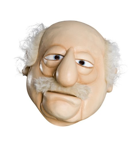 The Muppets Deluxe Overhead Latex Mask, Waldorf