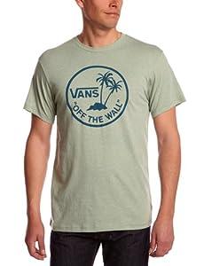 Vans Herren T Shirt Otw Palm Logo, green bay heather, XS, VS6M85V