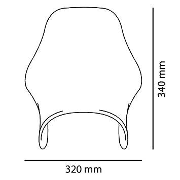 saute vent vent puig naked noir pour suzuki bandit 600 1200 1200 gn 125 250 gs. Black Bedroom Furniture Sets. Home Design Ideas