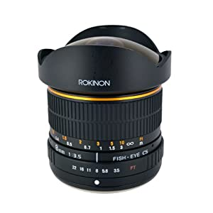 Rokinon 8 mm f/3.5 Lens for Olympus Cameras