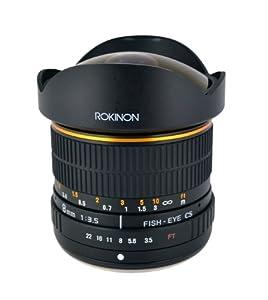 Rokinon 8 mm f/3.5 Lens for Olympus Cameras