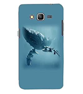SAMSUNG GALAXY GRAND PRIME SEA MONSTER Back Cover by PRINTSWAG