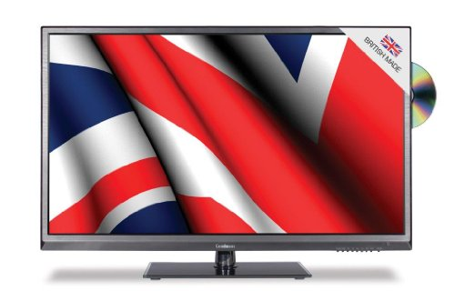 Goodmans GVLEDHD32DVD 32-inch Widescreen Full HD 1080p TV with Freeview and Built-In DVD Player