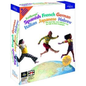 KidSpeak Spanish French German Italian Japanese Hebrew (6 in 1)