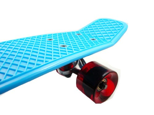 """Sun Boards 22"""" Skateboard with Vinyl Deck with Colorful Combos"""