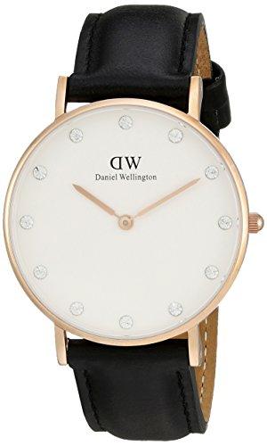 Daniel-Wellington-Classy-Sheffield-0951DW-Orologio-da-donna-al-quarzo-Cinturino-in-Pelle-34-mm