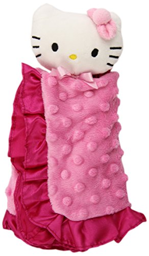 Lambs & Ivy Hello Kitty Puff Dot Baby Snugglie front-1004439
