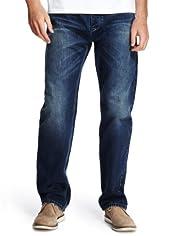 North Coast Selvedge Denim Jeans [T17-6970N-S]