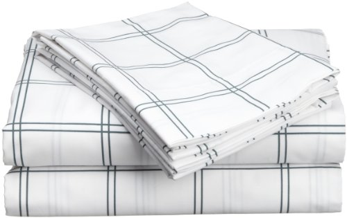 Hanes Cabana Cotton Printed King Sheet Set, Cool back-978237