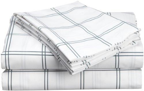 Hanes Cabana Cotton Printed King Sheet Set, Cool front-978237