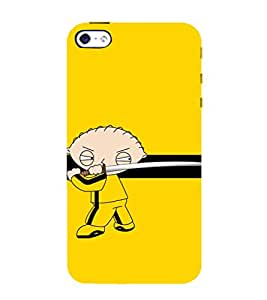 Warrior Cartoon 3D Hard Polycarbonate Designer Back Case Cover for Apple iPhone 4 :: Apple iPhone 4S