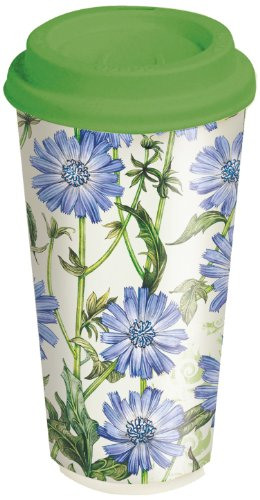 Lang Blue Chicory Ceramic Travel Cup