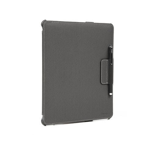 Targus Vuscape Folio Case Cover Stand for New iPad 3 - Grey